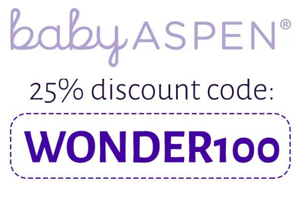 Baby Aspen Discount Code: WONDER100
