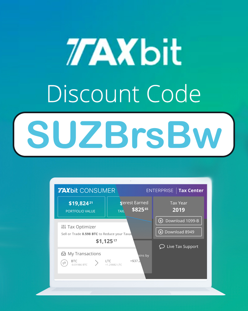 Taxbit Discount Code | 10% off subscriptions code: SUZBrsBw