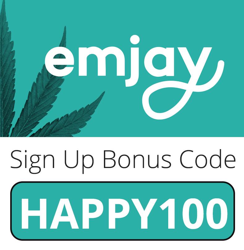 Emjay Sign Up Bonus Code: HAPPY100
