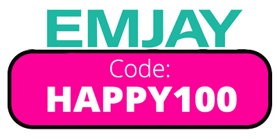 Hey Emjay Sign Up Bonus Code: HAPPY100