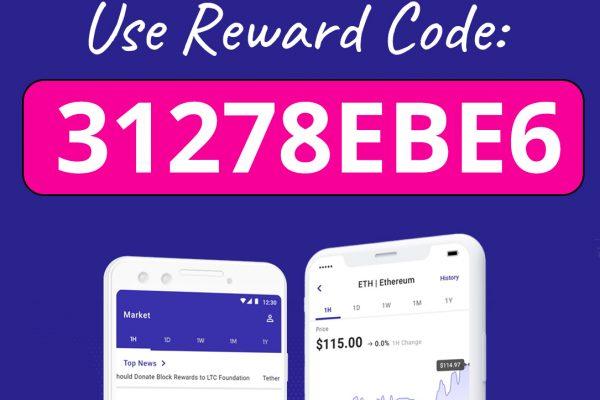 Voyager Reward Code for Free Bitcoin